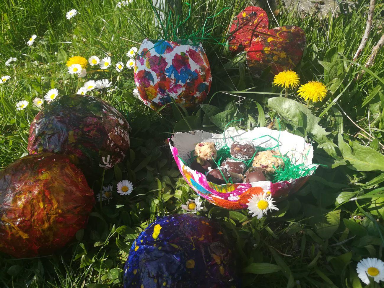 DIY Osternest mit leckerer Überraschung