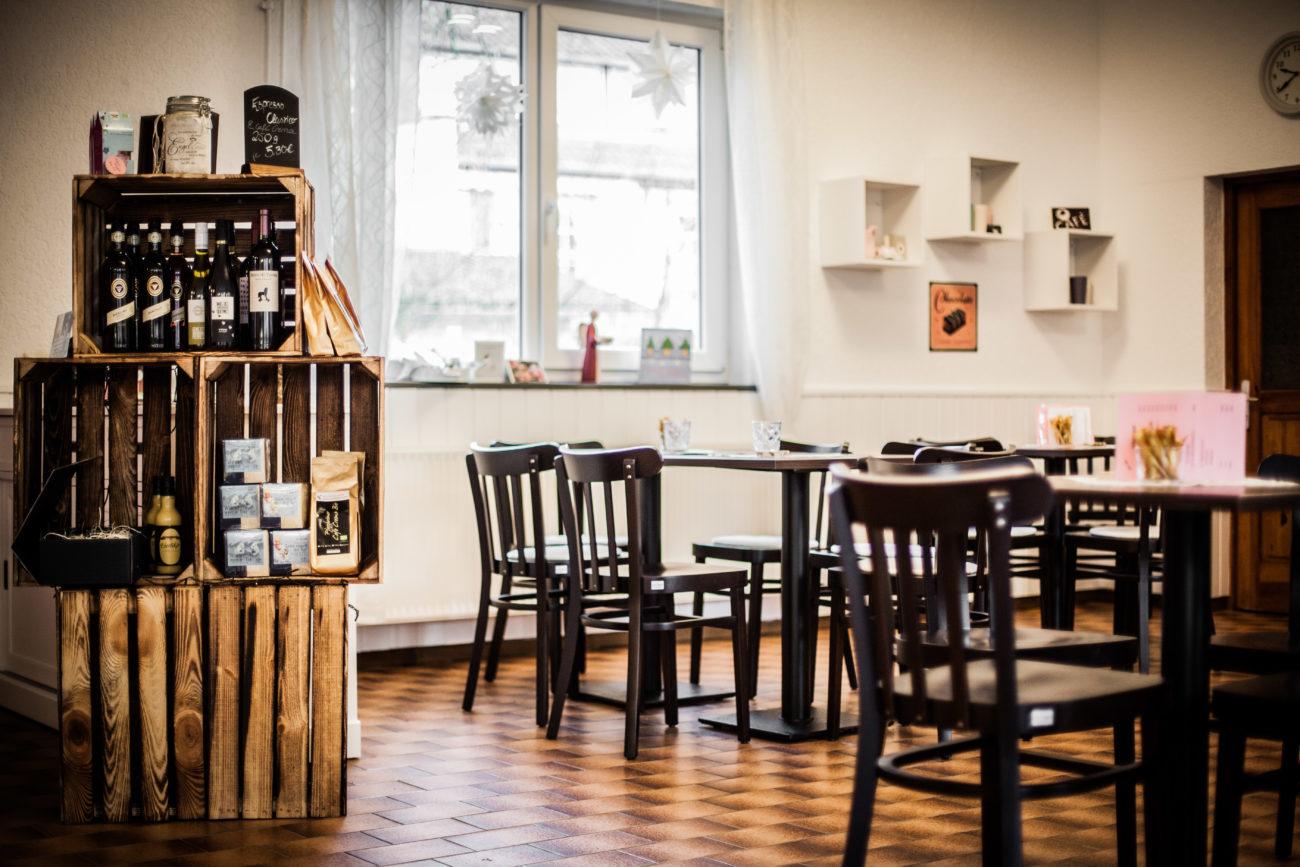 Liebevoll eingerichtetes Café
