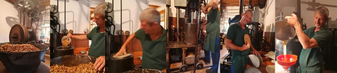 Öl pressen Stempelpresse